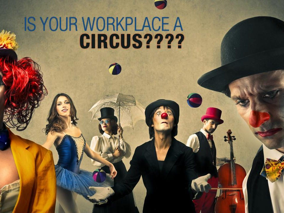 circus workplace 960x720 - Is your workplace a CIRCUS????
