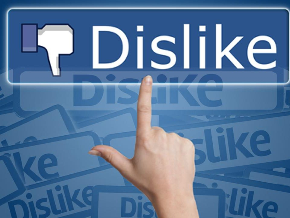 dislike 960x720 - A DISLIKE button for Facebook, that will never HAPPEN, why?